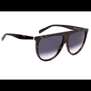 Celine Thin Shadow Sunglasses Tortoise